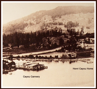 Cayou Cove, Deer Harbor last century