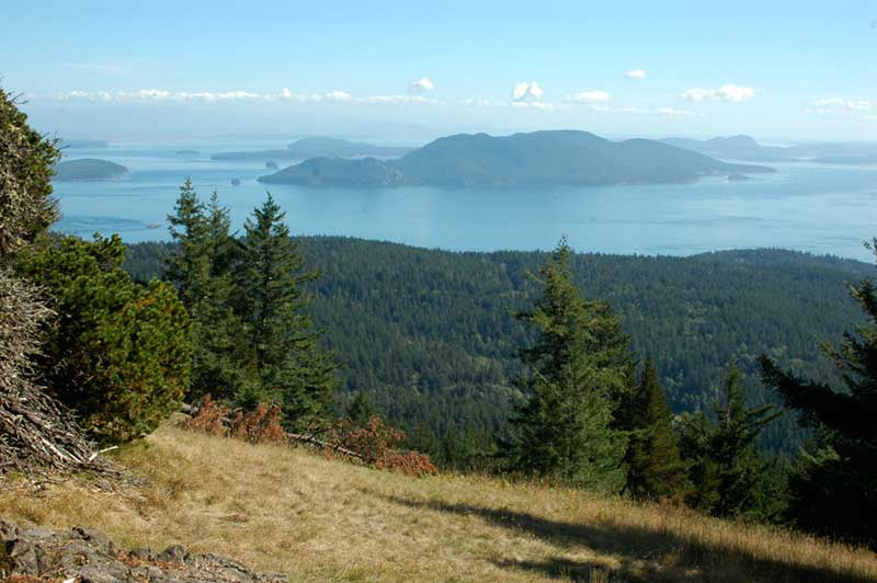 Little Summit at Moran State Park on Orcas Island