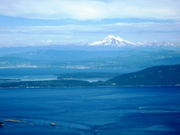 Mt. Constitution, Orcas Island from the top