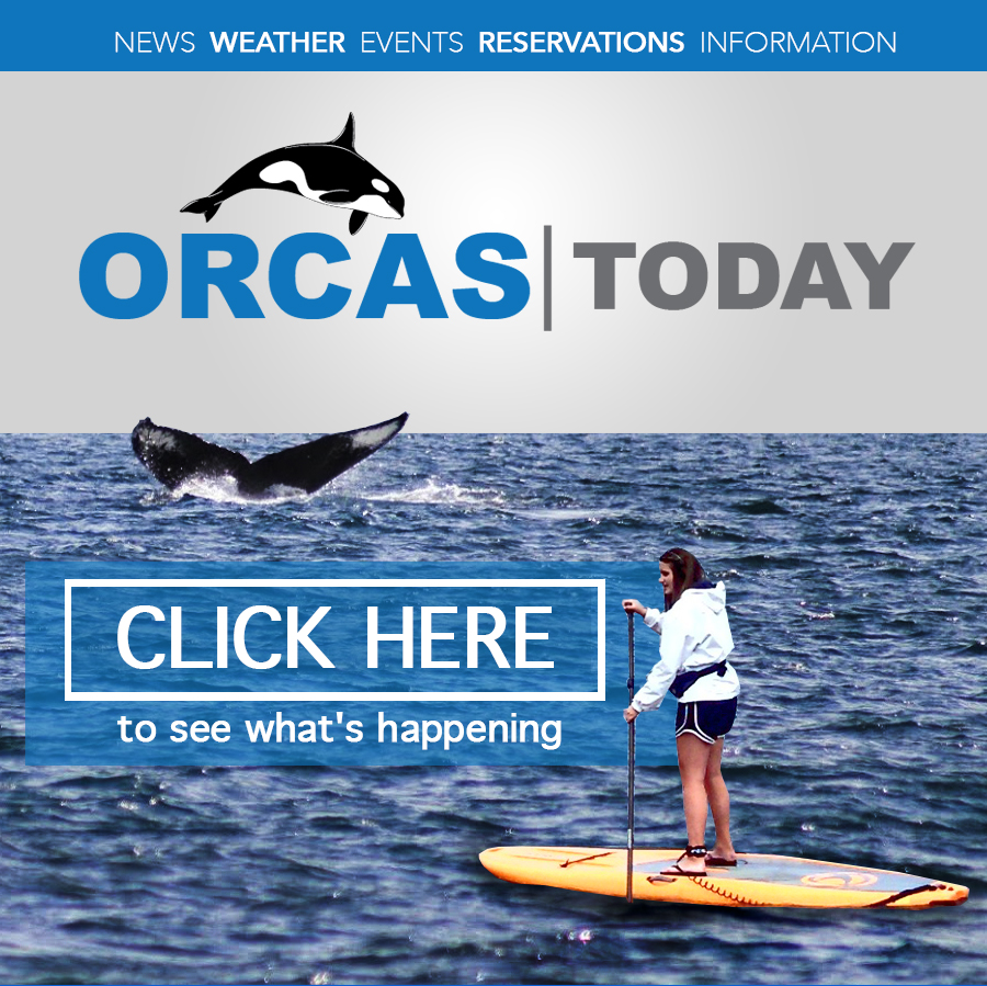 Click Here! to see what's happening on Orcas Today